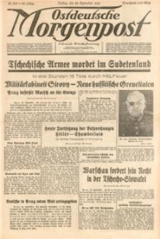 Ostdeutsche Morgenpost, 1938, Jg. 20, Nr. 262