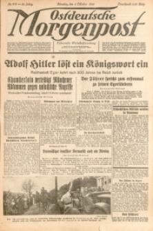 Ostdeutsche Morgenpost, 1938, Jg. 20, Nr. 273