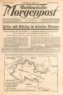 Ostdeutsche Morgenpost, 1938, Jg. 20, Nr. 277