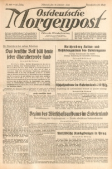 Ostdeutsche Morgenpost, 1938, Jg. 20, Nr. 281