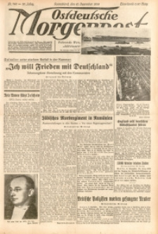 Ostdeutsche Morgenpost, 1938, Jg. 20, Nr. 340