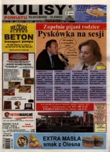 Kulisy Powiatu Kluczbork - Olesno 2010, nr 18 (337).