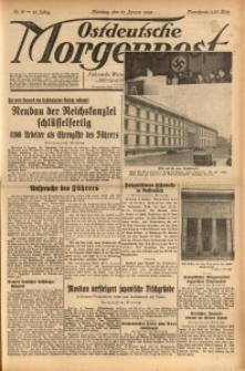 Ostdeutsche Morgenpost, 1939, Jg. 21, Nr. 10