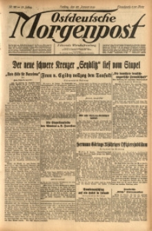 Ostdeutsche Morgenpost, 1939, Jg. 21, Nr. 20