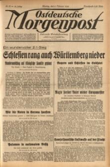 Ostdeutsche Morgenpost, 1939, Jg. 21, Nr. 37