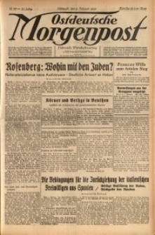 Ostdeutsche Morgenpost, 1939, Jg. 21, Nr. 39