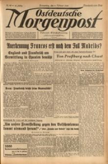 Ostdeutsche Morgenpost, 1939, Jg. 21, Nr. 40