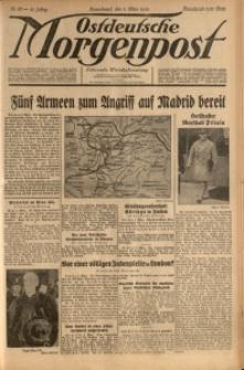 Ostdeutsche Morgenpost, 1939, Jg. 21, Nr. 63