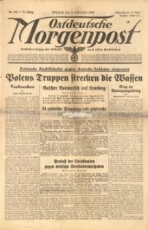 Ostdeutsche Morgenpost, 1939, Jg. 21, Nr. 252
