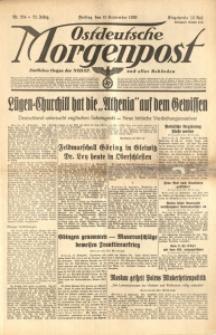 Ostdeutsche Morgenpost, 1939, Jg. 21, Nr. 254