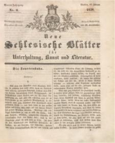 Neue Schlesische Blätter für Unterhaltung, Kunst und Literatur, 1838, Jg. 4, Nr. 8