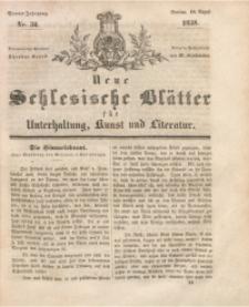 Neue Schlesische Blätter für Unterhaltung, Kunst und Literatur, 1838, Jg. 4, Nr. 34