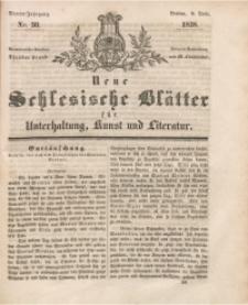 Neue Schlesische Blätter für Unterhaltung, Kunst und Literatur, 1838, Jg. 4, Nr. 50