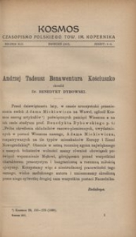 Kosmos, 1917, R. 42, z. 1/4