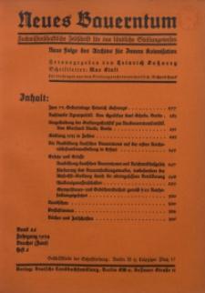 Neues Bauerntum, 1934, Bd. 26, H. 6