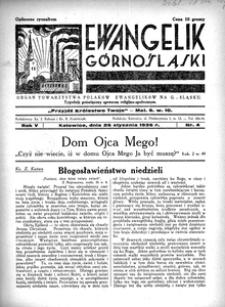 Ewangelik Górnośląski, 1936, R. 5, nr 4