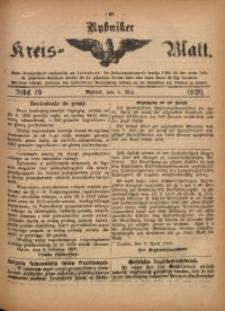 Rybniker Kreis-Blatt, 1920, Jg. 79, St. 19