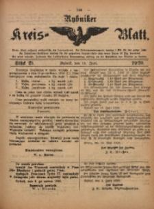 Rybniker Kreis-Blatt, 1920, Jg. 79, St. 25