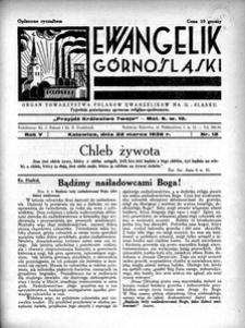 Ewangelik Górnośląski, 1936, R. 5, nr 12