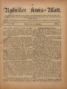 Rybniker Kreis-Blatt, 1921, Jg. 80, St. 33