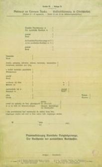 Aneks H. Plebiscyt na Górnym Śląsku. [Artykuł 23 i 26 regulaminu.] = Anlage H. - Volksabstimmung in Oberschlesien. [Artikel 23 und 26 der Abstimmungsvorschriften.]