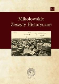 Mikołowskie Zeszyty Historyczne nr 2