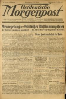 Ostdeutsche Morgenpost, 1931, Jg. 13, Nr. 70