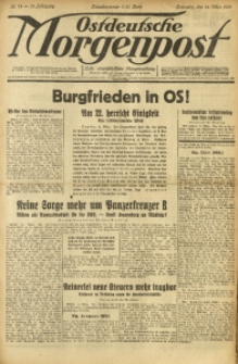 Ostdeutsche Morgenpost, 1931, Jg. 13, Nr. 73