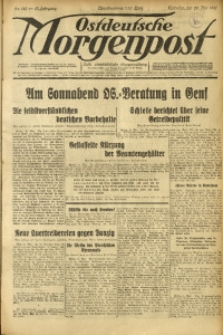 Ostdeutsche Morgenpost, 1931, Jg. 13, Nr. 140