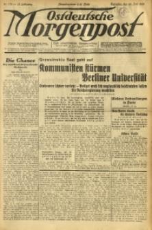 Ostdeutsche Morgenpost, 1931, Jg. 13, Nr. 176