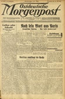 Ostdeutsche Morgenpost, 1931, Jg. 13, Nr. 197