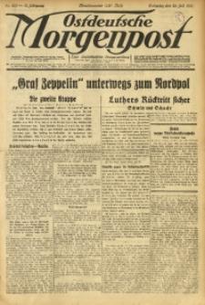 Ostdeutsche Morgenpost, 1931, Jg. 13, Nr. 203