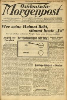 Ostdeutsche Morgenpost, 1931, Jg. 13, Nr. 218