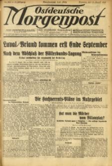 Ostdeutsche Morgenpost, 1931, Jg. 13, Nr. 224