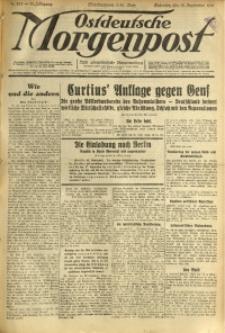 Ostdeutsche Morgenpost, 1931, Jg. 13, Nr. 253