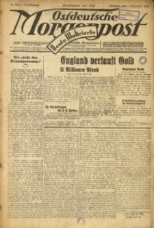 Ostdeutsche Morgenpost, 1931, Jg. 13, Nr. 302