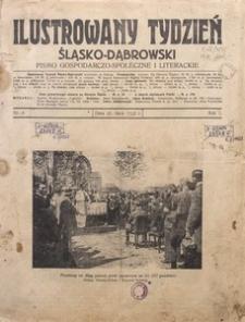 Ilustrowany Tydzień Śląsko-Dąbrowski, 1922, R. 1, Nr. 4