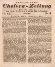 Schlesische Cholera-Zeitung, 1931, No. 6. - Neue Folge