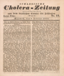 Schlesische Cholera-Zeitung, 1932, No. 11