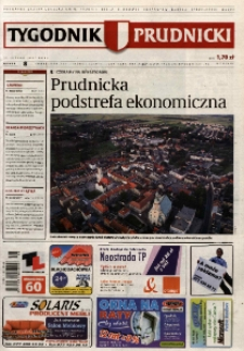 Tygodnik Prudnicki : prywatna gazeta lokalna gmin : Prudnik, Biała, Głogówek, Korfantów, Lubrza, Strzeleczki, Walce. R. 17, nr 8 (842).