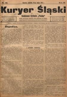 Kuryer Śląski, 1908, R. 2, nr 45