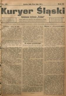 Kuryer Śląski, 1908, R. 2, nr 47