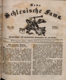 Neue Schlesische Fama, 1838, Jg. 12, No. 40