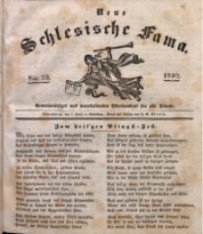Neue Schlesische Fama, 1840, Jg. 14, No. 23