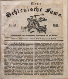 Neue Schlesische Fama, 1840, Jg. 14, No. 48