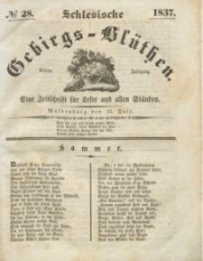 Schlesische Gebirgs-Blüthen, 1837, Jg. 3, No 28