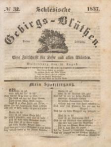 Schlesische Gebirgs-Blüthen, 1837, Jg. 3, No 32
