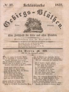 Schlesische Gebirgs-Blüthen, 1837, Jg. 3, No 37