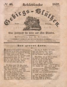 Schlesische Gebirgs-Blüthen, 1837, Jg. 3, No 46