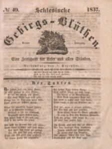 Schlesische Gebirgs-Blüthen, 1837, Jg. 3, No 49